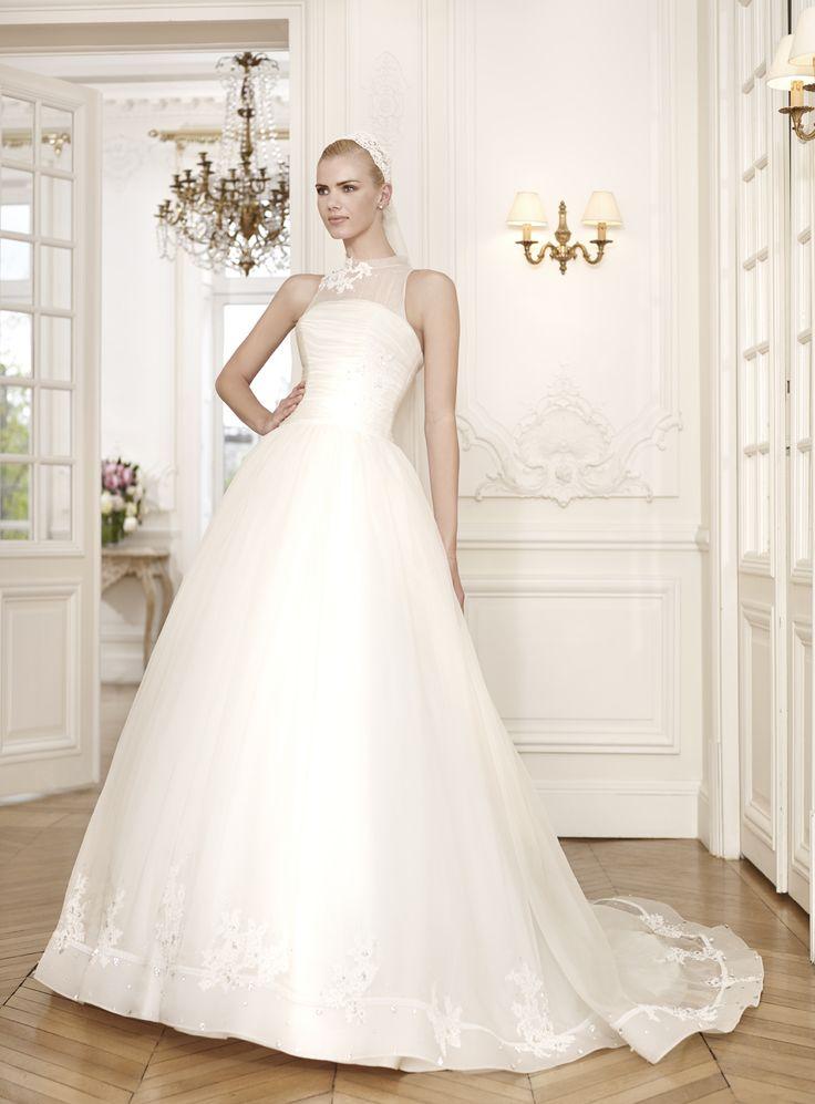 diamond majestueuse robe de mari e en organza de soie
