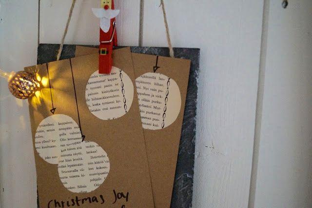 Joulukortti-idea