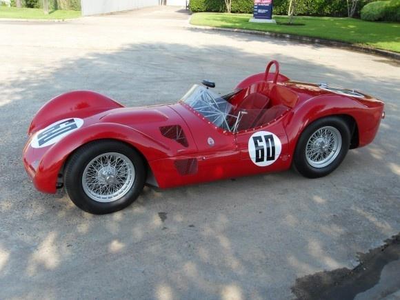 960 Maserati Birdcage Tipo 61 - en gång i tiden var racerbilar så här vackra - på den tiden när människor stod för designen, inte datorer och vindtunlar
