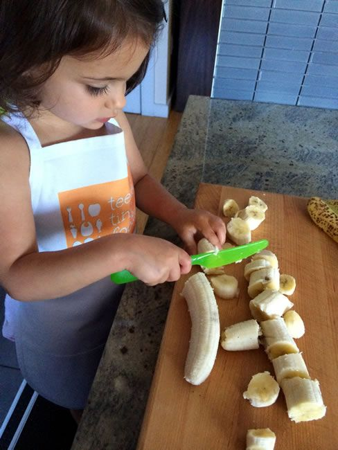 Five unprocessed recipes to cook with kids along with ideas to get your little ones in on the cooking action.