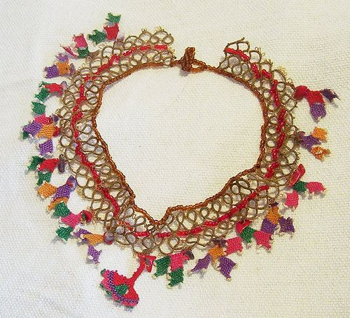 Necklace with turkish laces | Flickr - Photo Sharing!
