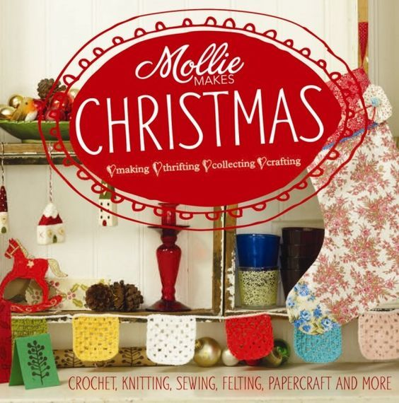 """""""Mollie makes Christmas : making, thrifting, collecting, crafting"""" - inspirational ideas for handmade gifts, cards and decorations as well as top tips on stress-free entertaining, we've got Christmas all sewn up. Includes a variety of crafts, with full instructions for knitting, crochet, sewing and papercraft projects, as well as ideas on how to turn your junkshop finds into festive wonders"""