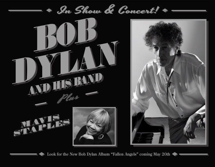 GoRockfest.Com: Bob Dylan Tour Dates 2016