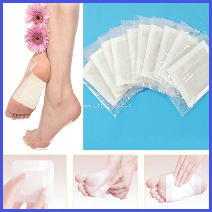 200PCS Detox Foot Patches Pads Body Toxins Feet Slimming Cleansing Herbal Adhesive Detoxify Toxins HTY07