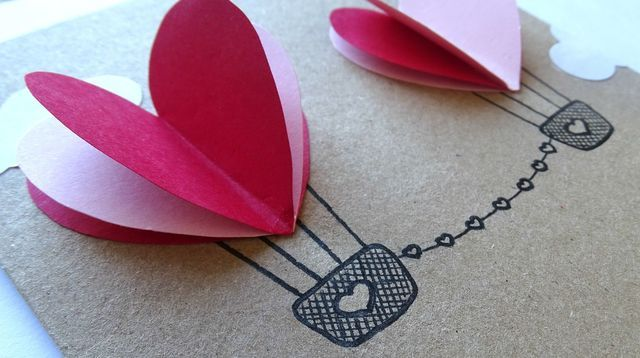 DIY carte saint valentin : 5 modèles à faire soi-même