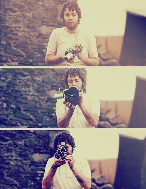 Paul McCartney, so freaking cute