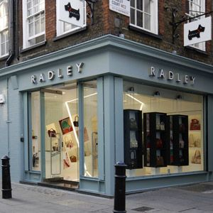Radley - love their bags!  The shop in Covent Garden is one of my faves.