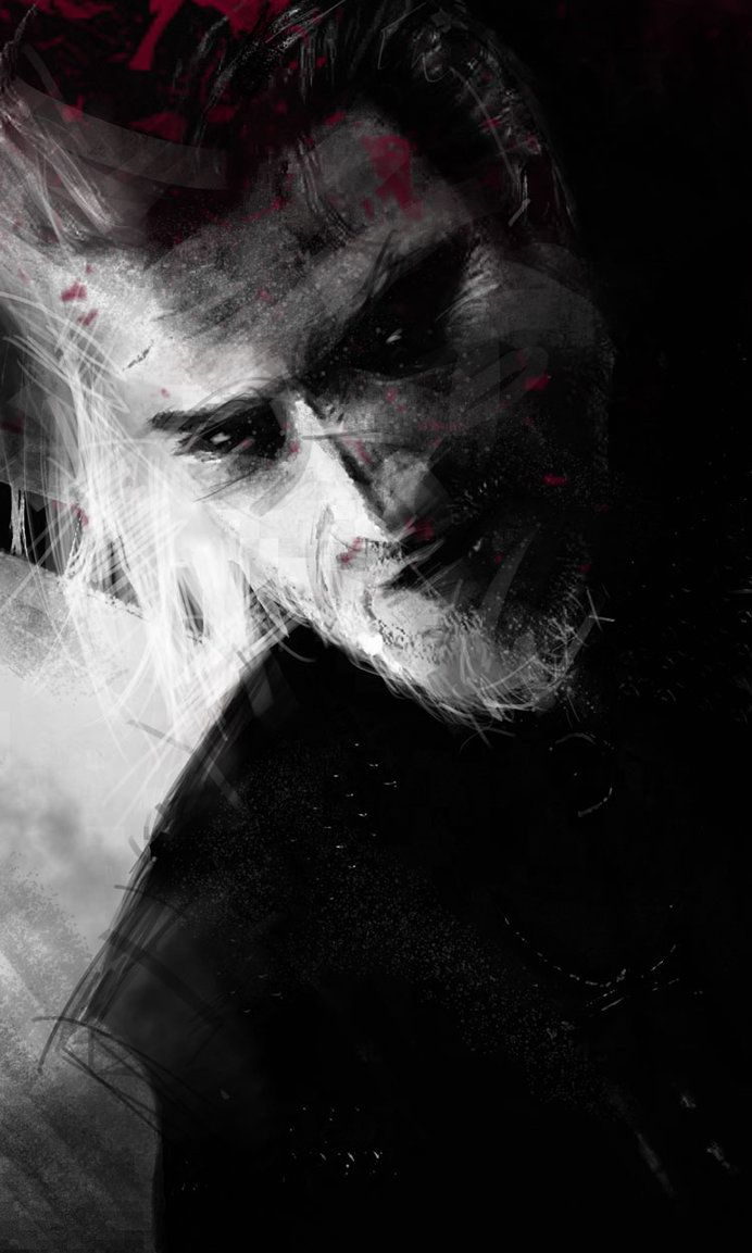 Only Evil and Greater Evil exist by olivegbg I Witcher fan art