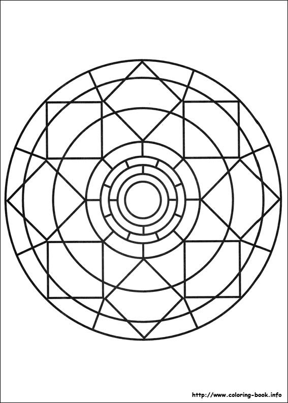 mandala monday mandala to color from coloring bookinfo 1 - Coloring Book Info