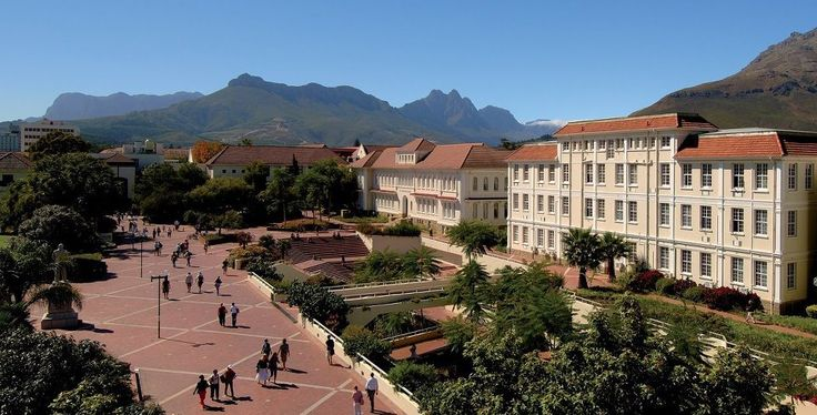 University of Stellenbosch - must be one of the most beautiful university settings.