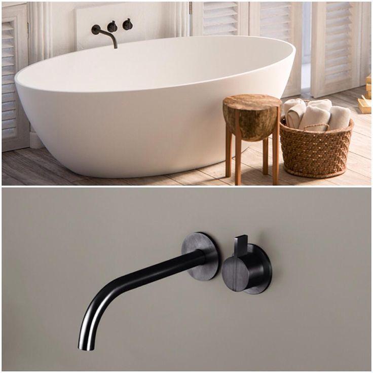 Piet Boon Gunmetal Black taps bycocoon.com | Piet Boon® by COCOON design bathroomtaps | inox stainless steel | loft bathroom | modern bathroom design | hotel & villa design | Dutch Designer Brand COCOON
