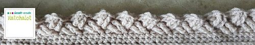 Ravelry: Cable Border pattern by Sarit Grinberg