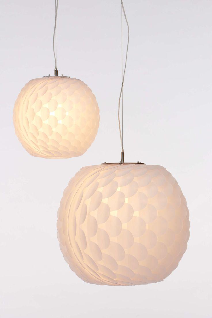 Unusual pendant lamps inspired by medusas digsdigs - Buzzimoon Pendant Lamp See More Lunar Sphere