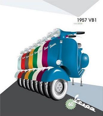 Vespa Color