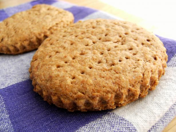 Digestive Biscuits Recipe - a well-reviewed recipe, though I'd like some more specs on the wheat flour used