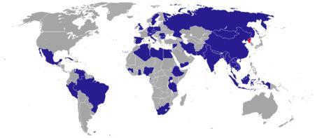 Misiones diplomáticas de la República Popular Democrática de Corea - Wikipedia, la enciclopedia libre