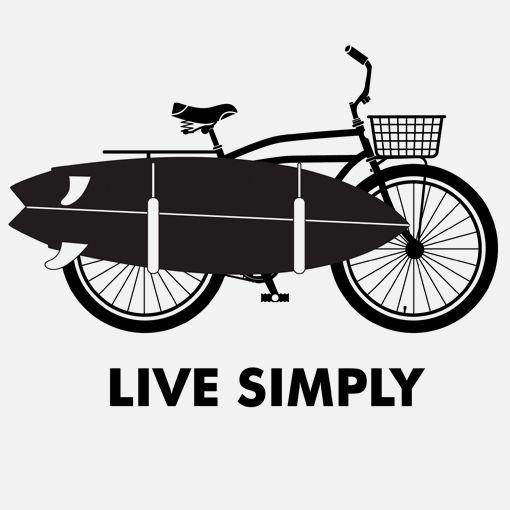 I'd love to move near the beach & surf, cycling is already my greatest hobby!