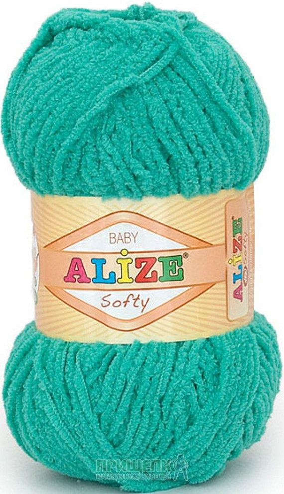 Alize Softy Baby Yarn Micropolyester Yarn Extra Soft Yarn Crochet