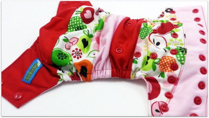 DISO- ApplesBoutique Scrappy, One Size Pocket Diaper – Ella Bella Bum