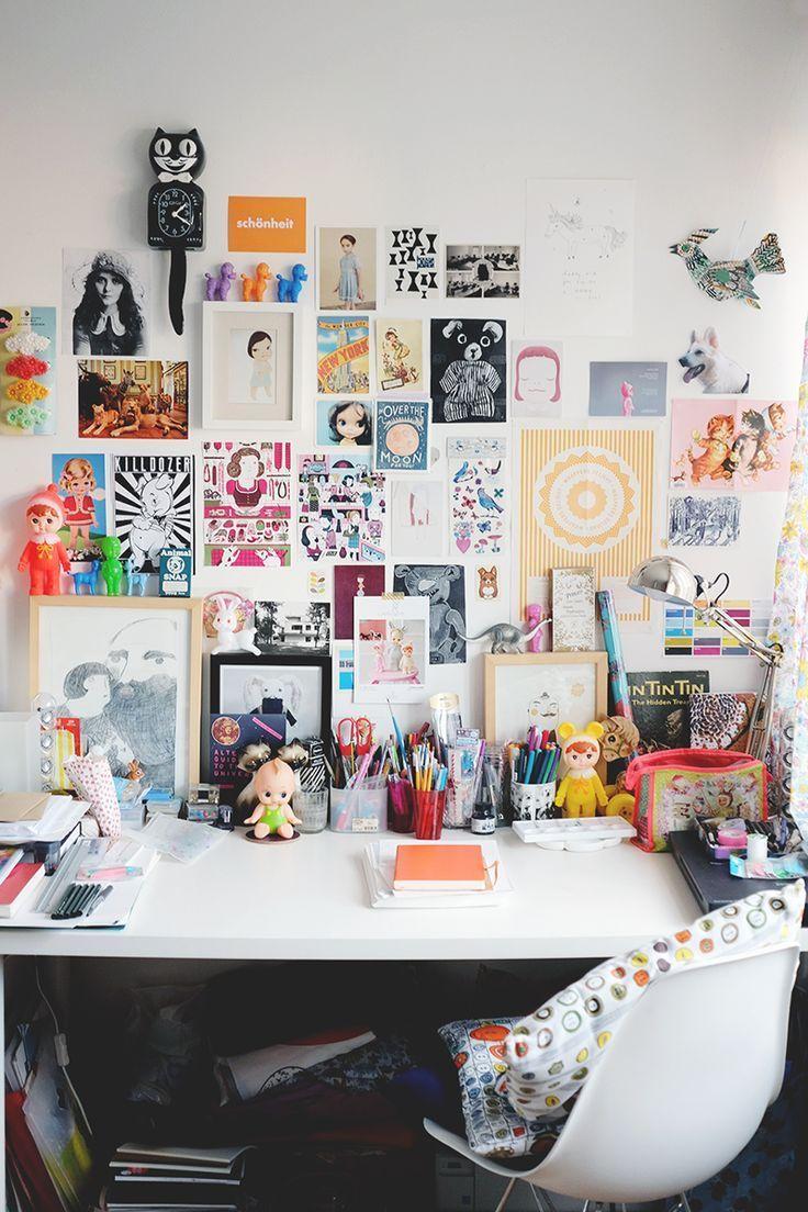 Illustrator Workspace Arbeitszimmer / Schreibtisch! - Ein Blick in mein Zuhause - Hannah - Vega - #A ....