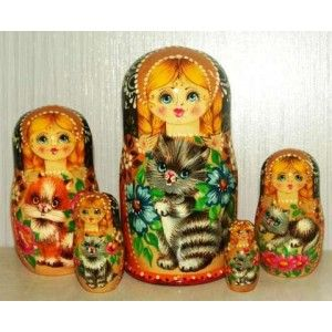 TEKUSA #russiandolls #diy #babushka #matroyshka #handmade #unique #animals #wildlife