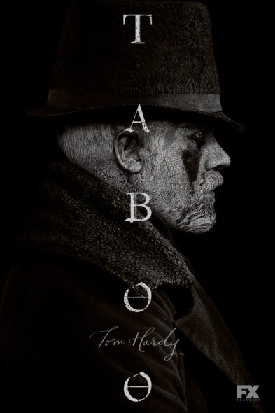 Check out season one photos and episode descriptions for the upcoming Taboo TV coming to FX in January. Do you plan to watch the new Tom Hardy series?