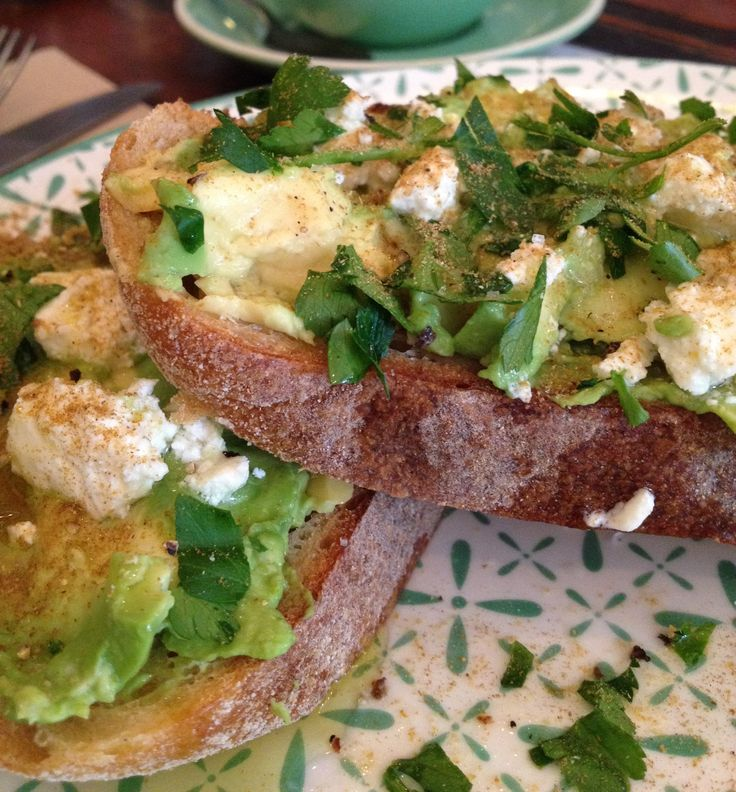 Smashed avo at The Store House