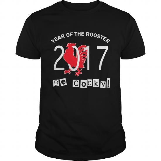 Chinese New Year 2017 Rooster TShirt