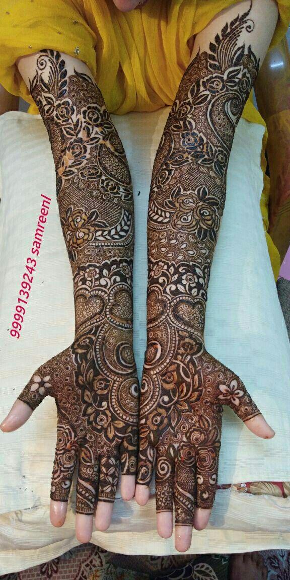 Modern Mehndi Designs Full Hand Bridal