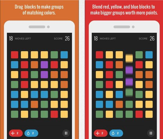 Blend The Game, New iPhone Puzzle Matching Game