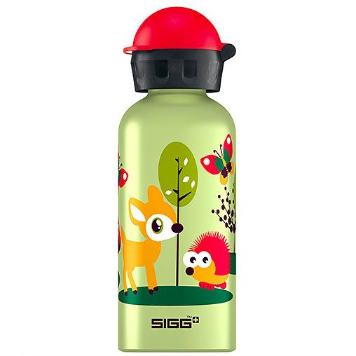 happy forest water bottle - so cute!: Forests, Gift, Kids Stuff, Baby, Kid Stuff, Forest Sigg, Water Bottles