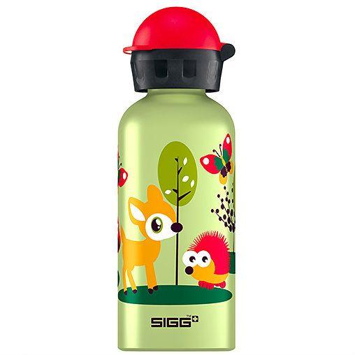 happy forest water bottle - so cute!Kids Bottle, Back To Schools, Kids Stuff, Sigg Kids, Forests Water, Happy Forests, Forests Sigg, Backtoschool, Water Bottles