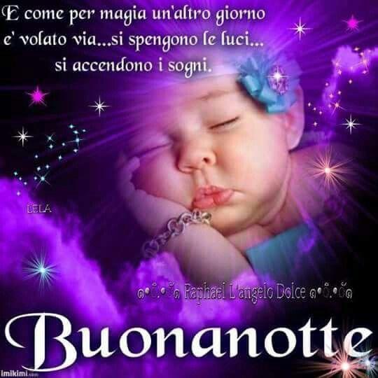 Buonanotte e buoni sogni