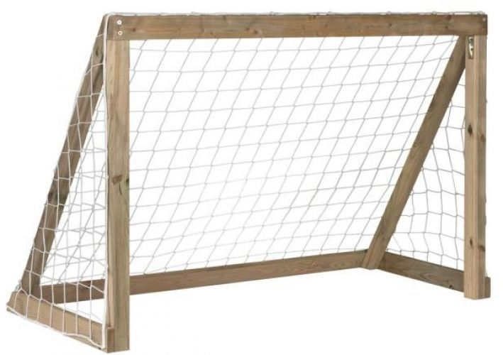 Kids Wooden Football Goal Match Post #football #soccer #goal #match #post