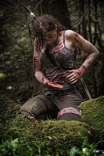 Jessie Noochies Cosplays Lara Croft