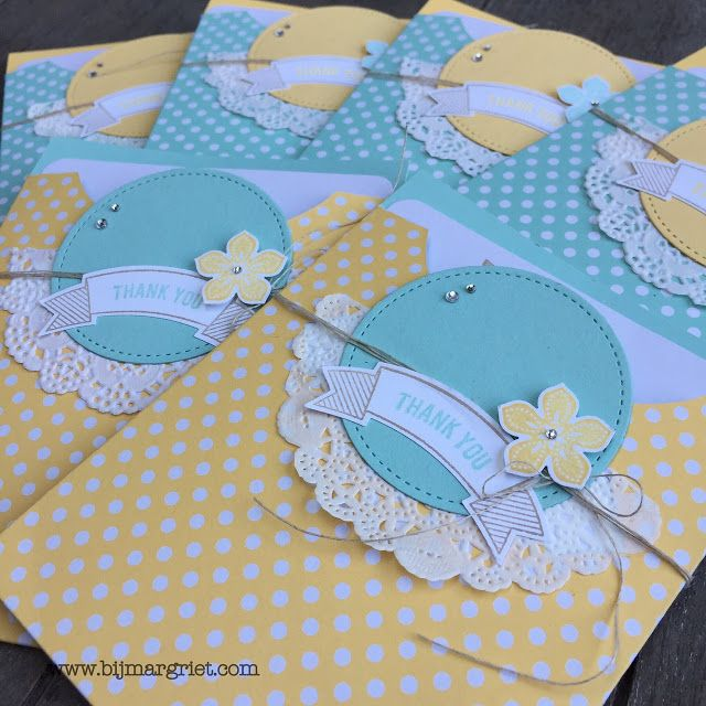 Margriet; Stampin 'Up! inspiration and sale