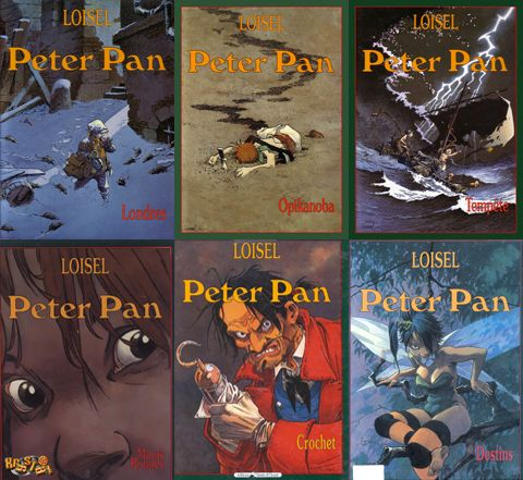 READ Régis Loisel - Peter Pan (6 volume comic book series)