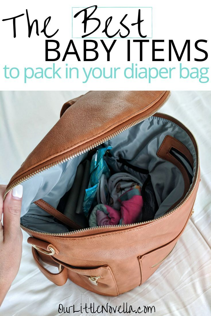 257027cb5d5 Ever wonder how to pack the perfect diaper bag without packing too much   This list describes all of the diaper bag essentials for baby that can get  you ...