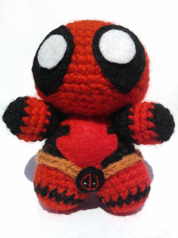 Crochet Wedding Dress Pattern Doll : 17 Best images about Deadpool on Pinterest Perler bead ...