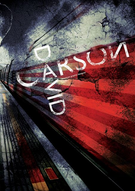 DAVID CARSON POSTER by *YASHIN*, via Flickr