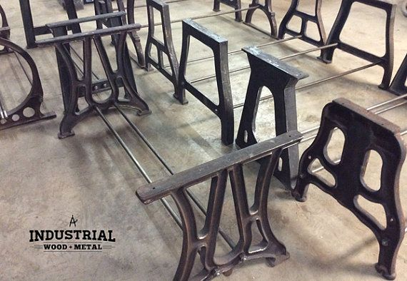 Were offering 9 styles of cast iron base sets that can be nicely customized to fit virtually any table top you have. Choose any style for