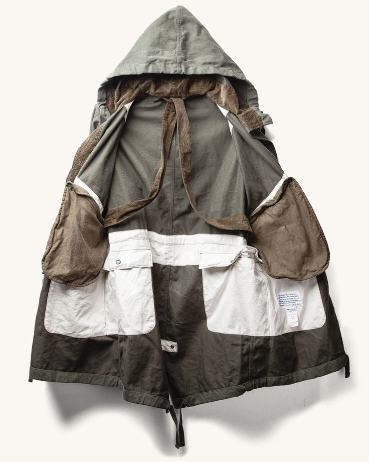 Engineered Garments bull denim HIghland Parka