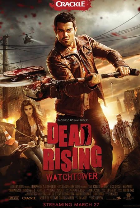 Legendary has released an all-new trailer for the upcoming zombie horror filck Dead Rising: Watchtower, which will start streaming on Crackle on March 27.