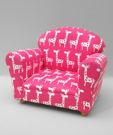 Pink Giraffe Rocking Chair  by Funky Kids by Mauricio's Furniture on #zulily today!