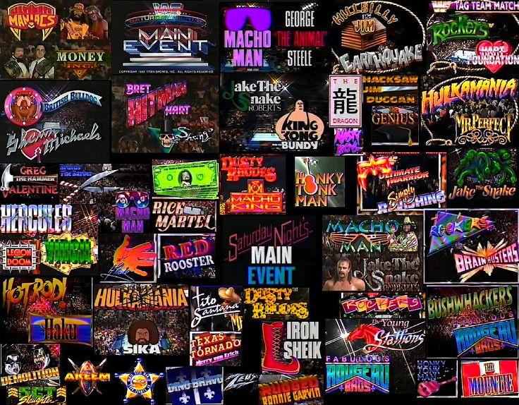Remembering WWF Logos. Wwf, Wwf logo, Wwf superstars