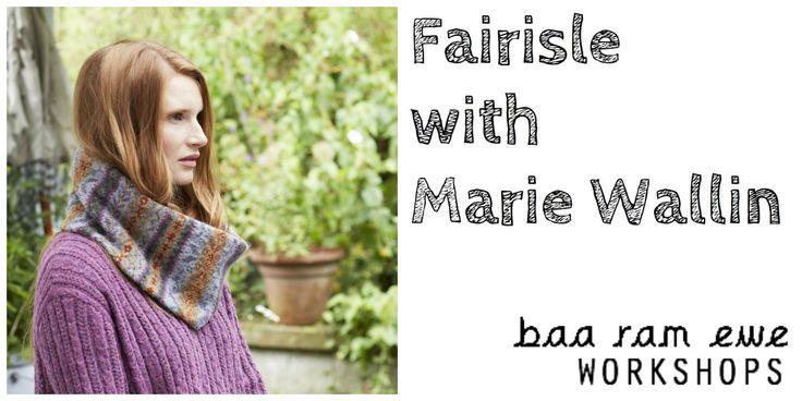 Fairisle with Marie Wallin : Leeds, October 2016 Tickets, Tue, 18 Oct 2016 at 10:00 | Eventbrite