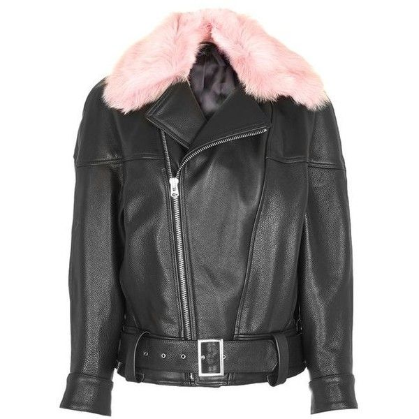 many fashionable really cheap nice cheap 80s Leather Aviator Jacket by Boutique (€280) ❤ liked on ...