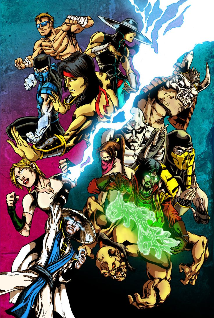 BA- Mortal Kombat Tribute by: Young-Art on deviantART