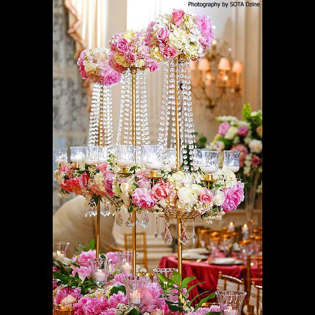 Unique Flower Arrangements For Weddings: 222 Best Peony And Hydrangea Centerpieces Images On