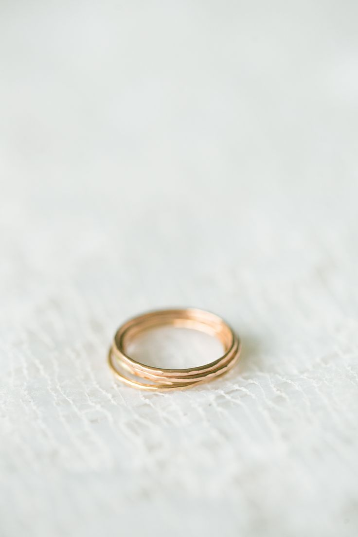 Single Willa Stacking Rings - $42 for Gold/Rose Gold Fill/$38 for Sterling Silver - Made to Order